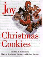 Joy of Cooking Christmas Cookies by Irma S. Rombauer, Ethan Becker, Marion Romba