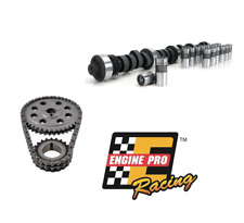 FORD SBF V8 289 302 STAGE 2 TRQ 448/472 LIFT CAMSHAFT LIFTERS TIMING CHAIN KIT