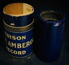 EDISON BLUE AMBEROL RECORD #23003 ✦ Roamin' In The Gloamin'~Harry Lauder