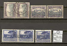 JAM B-01 South Africa 1930 used 7v City View Architecture CV 136,20 eur