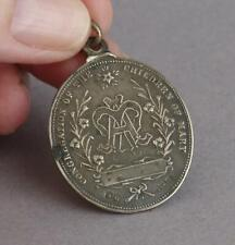 Antique STERLING SILVER Congregation of the Children of Mary WW1 Birmingham 1918
