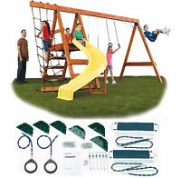 Play Set Kit Swing Slide Swingset Outdoor Backyard Playground Hardware Only Kids