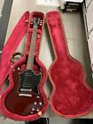 Authentic 2001 Gibson SG Red Guitar With Gibson USA Case