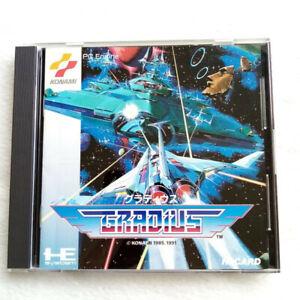 Gradius Nec PC Engine Hucard Japan Ver. PCE Shmup Konami 1991