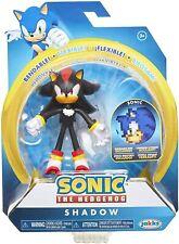 Sonic the Hedgehog SHADOW Action Figure SEALED Bendable Jakks Pacific Sega 2019