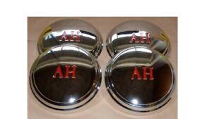 New Austin Healey Sprite Chrome Hub Cap Set...