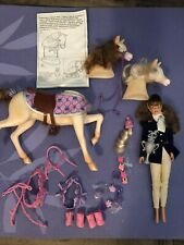 Barbie Riding Horse Doll & Barbie Horse Styles Playset W/ Removable Heads & Tail