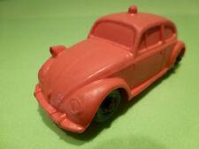 VINYL 13 VW VOLKSWAGEN KAFER POLICE - RED 1:43 - GOOD CONDITION ( NO TOMTE )