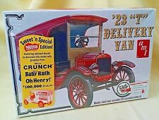 FORD DELIVERY VAN 1923 MODEL KIT AMT NEW 2015 RETRO DELUXE AMT860/12 NESTLE T.