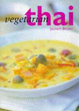 Vegetarian Thai, Brown, Jackum, Very Good Book