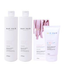 Nak Structure Complex TRIO 375ml - Shampoo, Conditioner, Bond enhancer