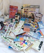 Scrapbooking, crafting Supplies lot!Stickers, embellishments, rub-ons... Jolees