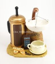 NEW Yankee Candle Coffee Press Cafe Hanging Tart Warmer Burner