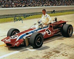 GFA Indianapolis Indy 500 x3 Champion BOBBY UNSER Signed 8x10 Photo B4 COA