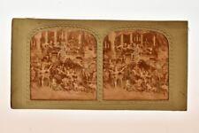 Vue stereo panoptique coloriée sur carton, Diableries : Galop Infernal