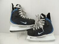NIKE Youth Size 1 EE Ice Hockey Skates with Tuuk Fasteel Blades