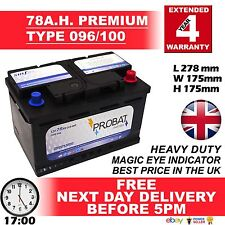 12V 76AH (76AH) O.E.M 100 (096)Battery ROVER (MG) 25, 45, 75, ZR, ZT, 600 Diesel