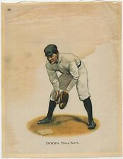 1912 S81 Silk Tobacco Large Premium #101 Dooin Philadelphia