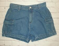 Too Hot Womens Size 16 Blue Denim Jean Shorts