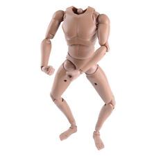 MX02-A 1/6 Scale 12'' Male Figure Body With Caucasian Skin Nude Narrow Shoulders