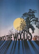"Bernadette Peters  ""Into The Woods""  Souvenir Program 1987  Broadway  Sondheim"