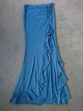 Blue Dance Skirt Latin Bellydance Mermaid Fishtail Front Cover by Allison Koh