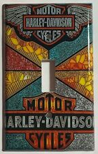 Harley-Davidson MotorCycles Light Switch Outlet Wall Cover Plate Home decor