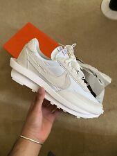 Nike LD Waffle sacai Blanco Nylon Size UK 9.5 Nuevo