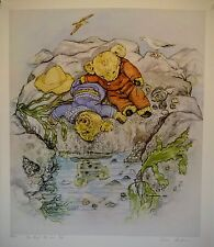 "Susan Andersen - ""The Rock Pool"" signed and numbered lithograph"