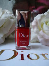 DIOR Gel Shine Extreme Nail Varnish 754 PANDORE Deep Fire Engine Red NEW NO BOX
