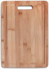 Tagliere in legno di bamboo con maniglia taglieri bambù da cucina x salumi carne