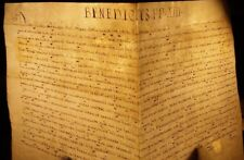 POPE BENEDICT XIII BULLA MANUSCRIPT on VELLUM - 1726 PAPST BULLE Papal Pape Papa