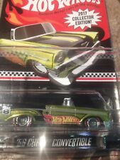 Hot wheels 2017  k-mart  mail in    56 chevy convertible ... IN  Stock--cracked