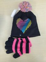 7-14 Capelli Girls/' Ivory Hat /& Gloves Set Size M//L