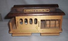 Vintage Wood Powell & Hyde San Francisco Cable Car Music Box