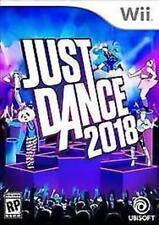 Just Dance 2018 USED SEALED (Nintendo Wii, 2017)