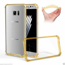 Clear Hard Back Case Silicone Shockabsorber Bumper Cover Samsung Galaxy s8 PLUS