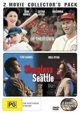A League of Their Own + Sleepless in Seattle (DVD) Madonna - Tom Hanks  Meg Ryan