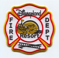 Disneyland Resort Fire Department Patch California CA Mickey Mouse Disney