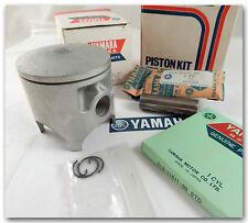 GENUINE YAMAHA 1975 MX250 MX250B STANDARD SIZE PISTON KIT w RINGS PIN & CLIPS