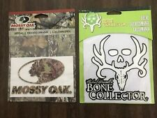 """Bone Collector 6"""" Decal And Mossy Oak Break-Up Country Logo Decals for Car/Truck"""