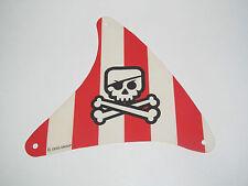 Lego ® Voile Bateau Pirate Tête de Mort 18x15 cm Evil Skull Sailing Pirate Ship