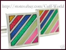 New Colorful Enamel Cuff Links cufflinks #C-154