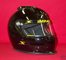 Impact Super Charger Top Air Helmet Gloss Black SA2015 Your Choice of M,L,XL