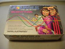 New NOS Mattel Electronics Aquarius Biorhythms Game Vintage Computer Game