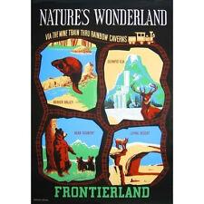 Extinct Attractions Club Disneyland Natures Wonderland DVD