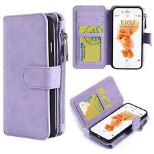 Apple Iphone 6/6S Plus Luxury Coach Series Flip Wallet Case Lavender