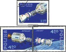 Polen 2386-2388 (kompl.Ausg.) gestempelt 1975 Apollo - Sojus