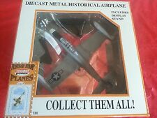 Model Power Postage Stamp Diecast Plane W/Stand 1:100 F84 THUNDERSTREAK-NIB#5353