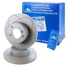 2x ATE Power Disc disco freno pieno ø256 POSTERIORE AUDI a3 8p BJ 03-13